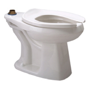 ADA Elongated Toilet Bowl