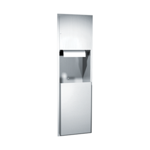 Automatic Roll Paper Towel Dispenser and Receptacle