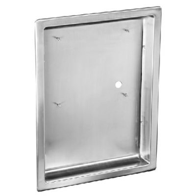 Stainless Steel Recess Kit, ADA Compliant